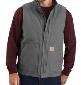 Carhartt Loose Fit Washed Duck Lined Mock Neck Vest