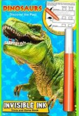 Dinosaurs Invisible Ink Book