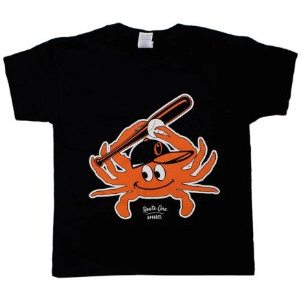 Baseball Orange Crab *Youth* Shirt
