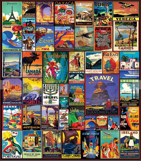 White Mountain Puzzle Travel The World