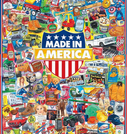 White Mountain Puzzle Made In America