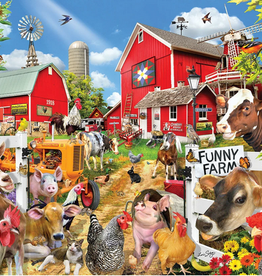 White Mountain Puzzle Funny Farm Seek & Find