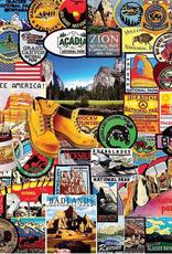 White Mountain Puzzle National Park Badges