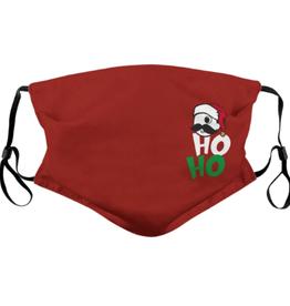 Side Boh Ho Bo V3.0 (Red) / Face Mask