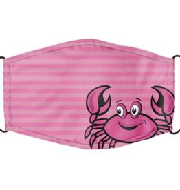 Cartoon Crab Pink Youth