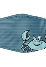 Cartoon Crab Blue Youth