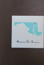 Paint the Town Tile Coaster - HDG Heart