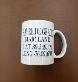 Paint the Town Mug - HDG Lat & Long