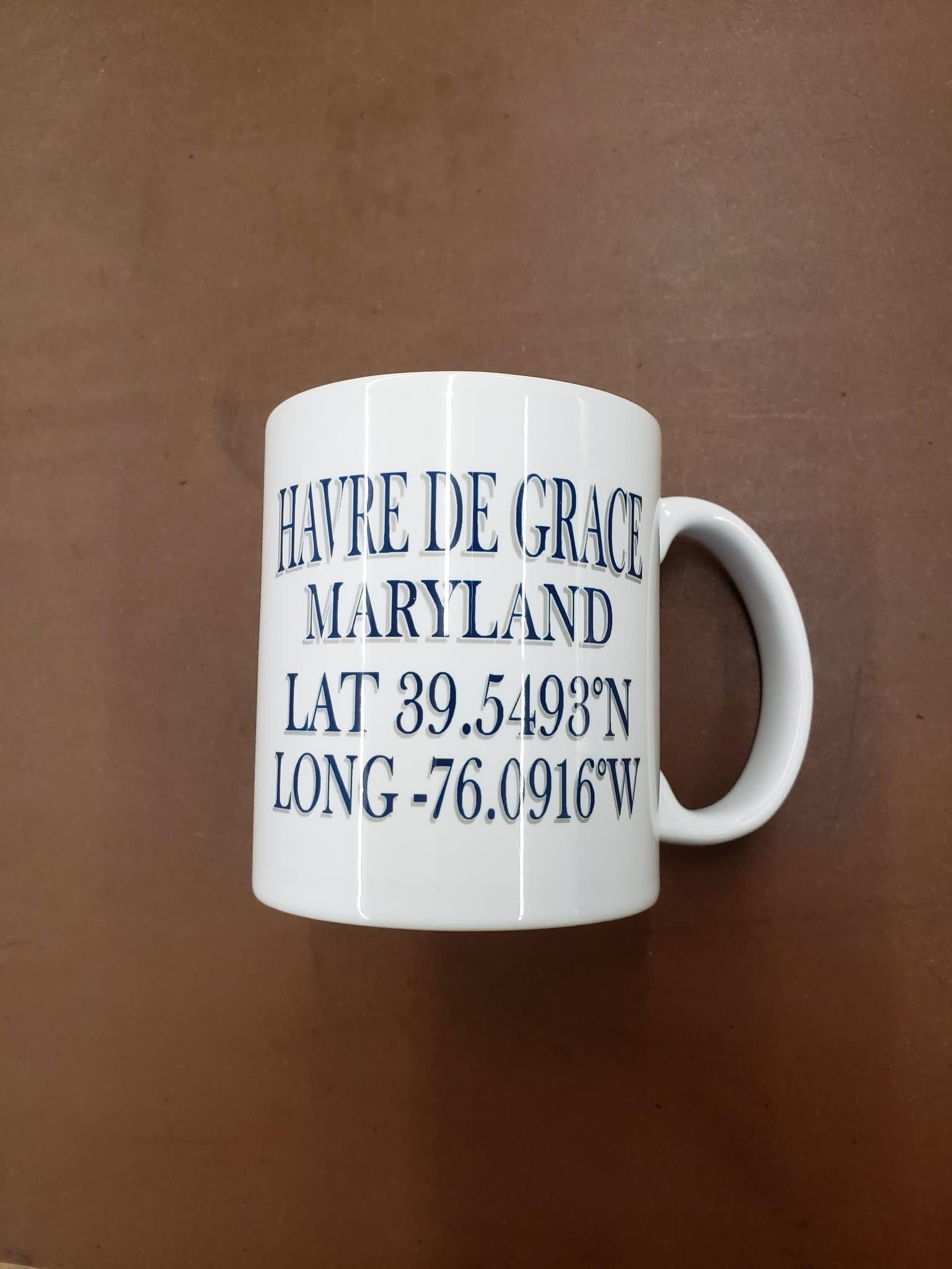 Paint the Town Mug - HDG Lat & Long