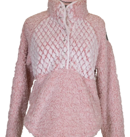 Simply Southern PIPED SHERPA- PINK