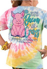 Simply Southern SS You're Bacon me Crazy Youth