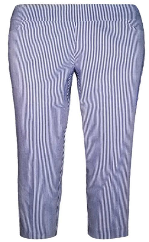 SOUTHERN LADY Stripe Ankle Pant 512A