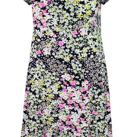 Cap Slv Joselle Print Dress 6162