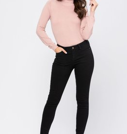 Judy Blue Mid-Rise Non Distressed Skinny