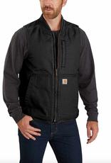 Carhartt Carhartt® Washed Duck Insulated Rib Collar Vest 104395