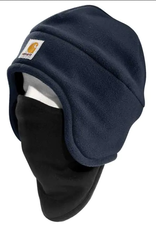 Carhartt A202 Fleece 2-In-1 Hat, Navy
