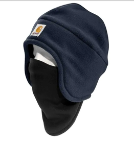 Carhartt A202 Fleece 2-In-1 Hat, Navy