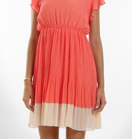 Melody Two-Tone Cap Sleeve Dress
