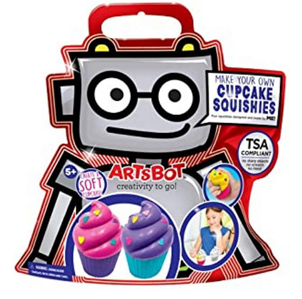 The ArtsBot Cupcake Squishy
