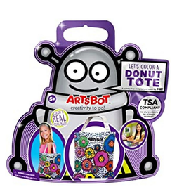 The ArtsBot Donut Tote Bag