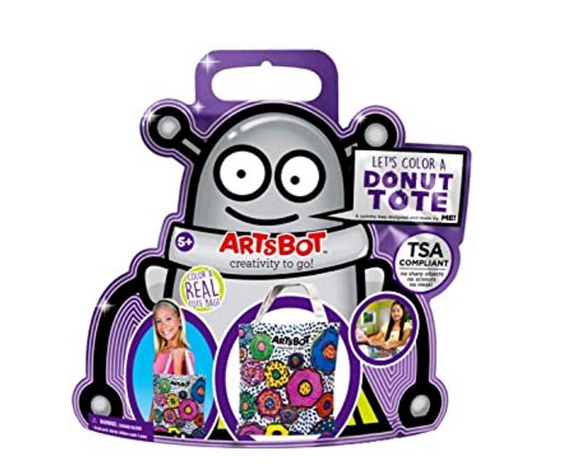 The ArtsBot Donut Tote Bag