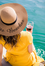Cheers Beaches Cheers Beaches Distressed Palm Tree Sun Hat