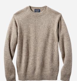Pendleton Shetland Crew Sweater- Coyote