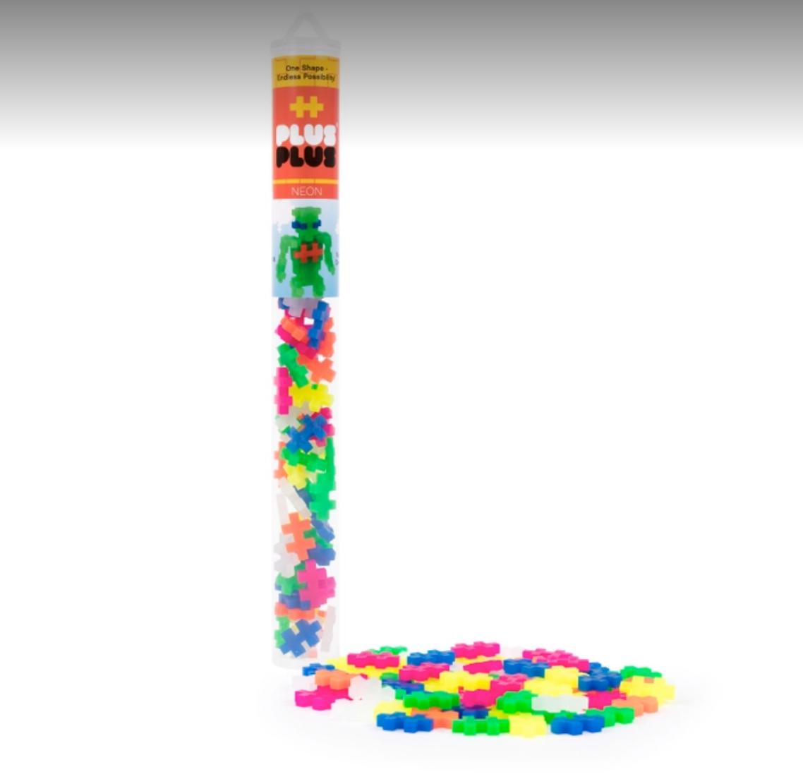 Plus Plus USA Neon Mix Tube