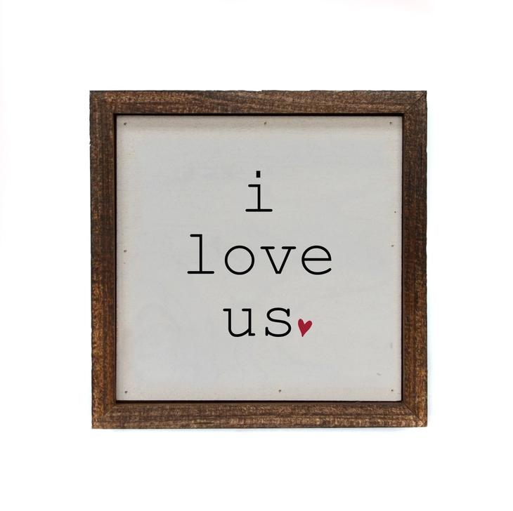 Driftless Studios 6x6 I Love Us With Heart
