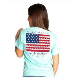 Simply Southern SS Wild Surf T-shirt