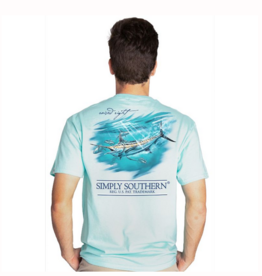 Simply Southern SS Unisex Marlin T-shirt