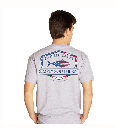 Simply Southern SS Unisex Flagfish T-shirt