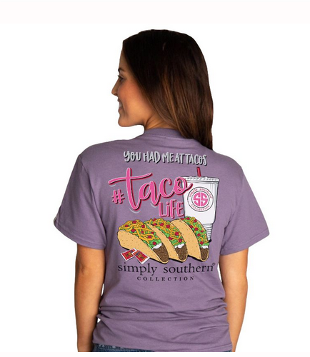 Simply Southern SS Taco Life T-Shirt