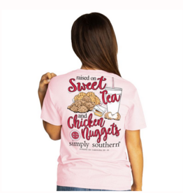 Simply Southern SS Sweet Tea and Nuggets T-Shirt