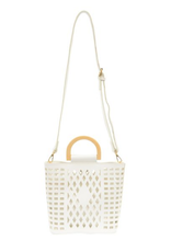 Joy Accessories by Joy Susan Madison Cut Out Tote