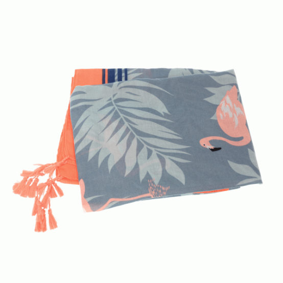 Joy Accessories by Joy Susan Flamingos in Paradise Scarf