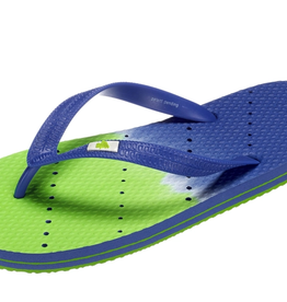 ShowaFlops Blue/Green Ombre Flip Flop