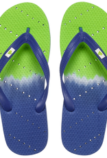 ShowaFlops Blue/Green Ombre Flip Flop