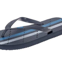 ShowaFlops Gray Athletic Stripe Flip Flop