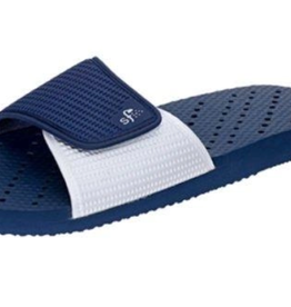 ShowaFlops Navy/White Slides