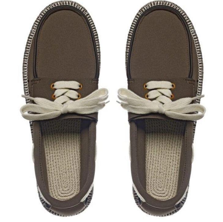 ShowaFlops Olive Boat Shoe