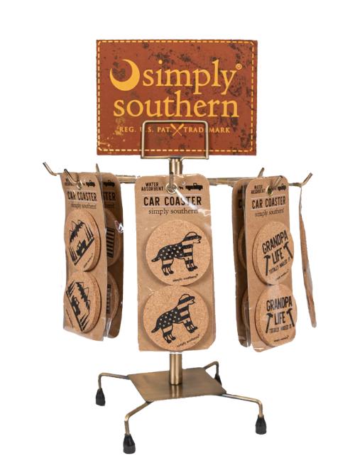 Simply Southern Car Coaster