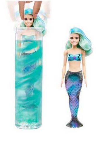 Mattel Mattel Barbie Color Reveal Mermaid Doll