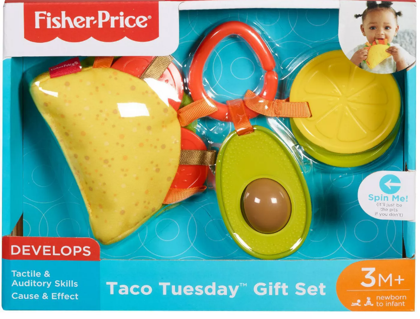 Mattel Fisher Price Taco Tuesday Gift Set in Box