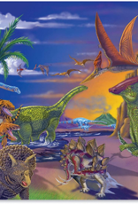 Melissa & Doug Jigsaw Puzzle (60pc)- Land of Dinosaurs