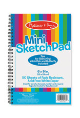 "Melissa & Doug Mini Sketch Pad (6"" x 9"")"