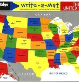 Melissa & Doug The United States Write a Mat