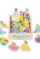 Melissa & Doug Disney Princess Wooden Magnets