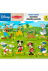 Melissa & Doug Mickey Mouse Wooden Chunky Puzzle