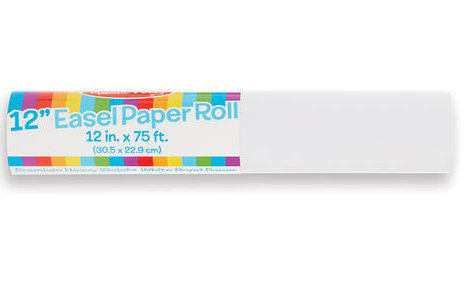 """Melissa & Doug 12"""" Paper Roll (for tabletop)"""